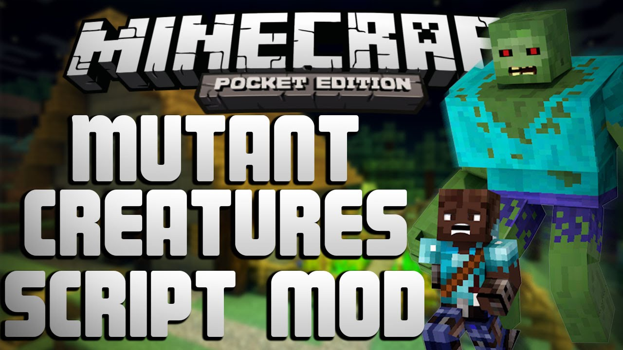Mutant Creatures Pocket Edition Mod (MCPE) mcpedownload