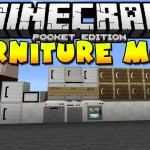 Minecraft PE 0.10.5 Mod: Furniture Mod Downlaod