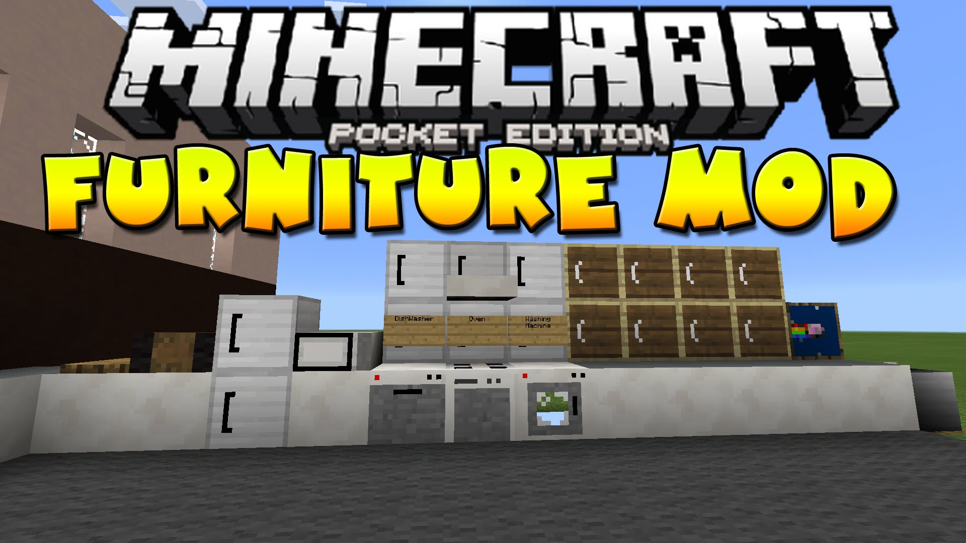 Furniture Pocket Edition Mod Mcpe Mcpedownload
