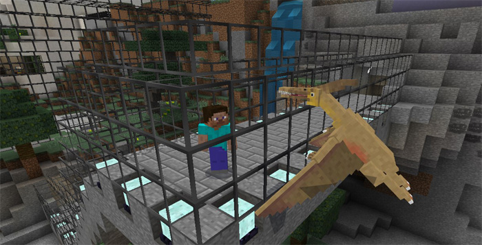 Minecraft pocket edition jurassic craft add on mcpedownload download jurassic park add on resource pack here gumiabroncs Choice Image