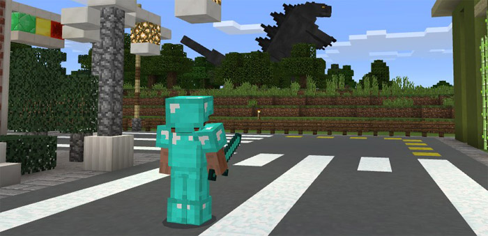Minecraft Pocket Edition Godzilla Add On Download Mcpe